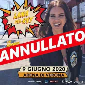 Lana Del Rey salta Verona e non recupera: Codacons vuole class action - Vvox