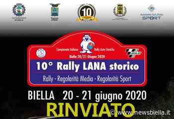 Rinviato il 10° Rally Lana Storico - newsbiella.it