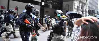 Hong Kong: un important dispositif policier dissuade les manifestants pro-démocratie