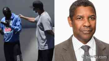Denzel Washington Comes To Aid Of Distressed Man In Hollywood - Blavity