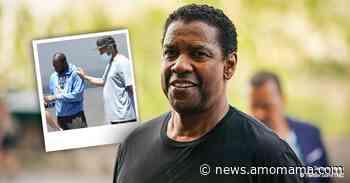 Denzel Washington Helps Distressed Man in Street Amid Oncoming Traffic - AmoMama