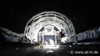 Verzögerte Freigabe: Tunnel bei Bertoldshofen wohl erst im Frühjahr 2022 befahrbar - Marktoberdorf - all-in.de - Das Allgäu Online!