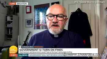 Brighton vicar told no lockdown fines review will take place