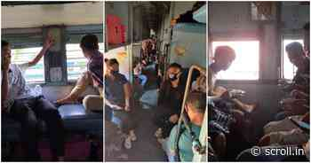 Filthy toilets, attacked with stones: For North East workers from Goa, a 119-hour nightmare on rails - Scroll.in