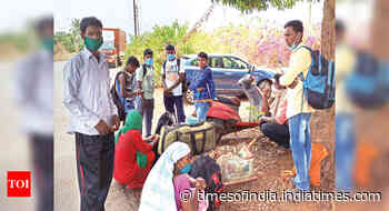 Migrants left homeless and hopeless after missing train in Goa - Times of India