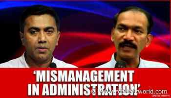 Goa Congress demands CM Sawant release a white paper on economy, claims mismanagement - Republic World - Republic World