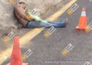 Dejan ejecutado con narcomensaje en la carretera Ciudad Altamirano-Arcelia - Digital Guerrero