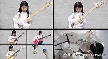 Garota de 6 anos toca todos os instrumentos e vídeo viraliza - Itupeva Agora