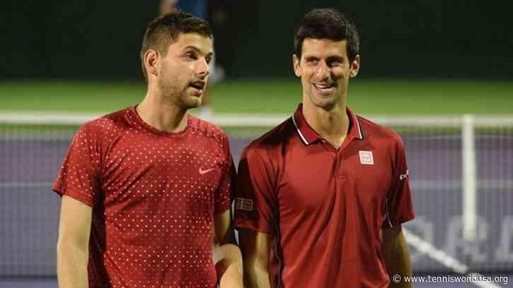 Filip Krajinovic: I hope Novak Djokovic remains healthy and breaks all the records