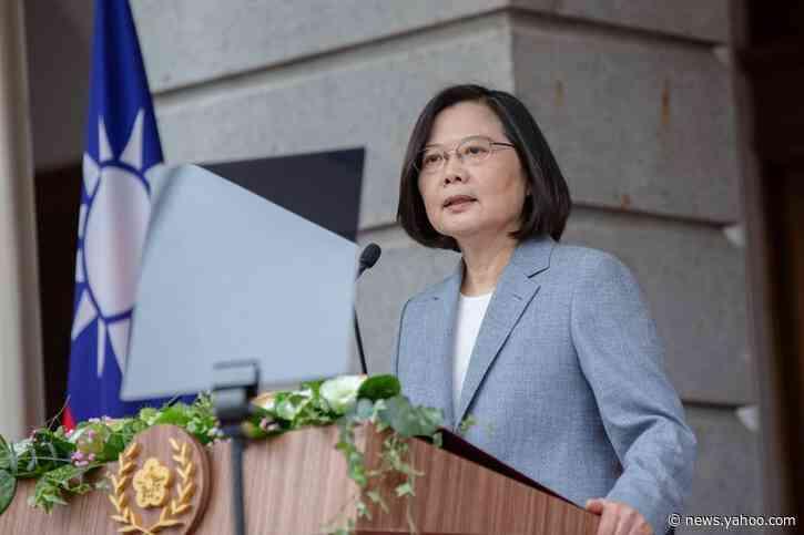 Taiwan president pledges humanitarian relief for Hong Kongers