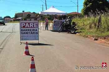 Barreira sanitária educativa monitora visitantes e moradores de Lagoa Formosa - Patos Já