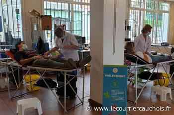 Saint-Romain-de-Colbosc. Un effectif réduit pour ce don du sang de mai - Le Courrier Cauchois