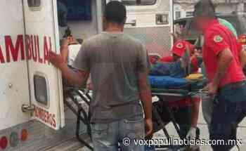 Talla el pavimento con su motocicleta y queda herido en San Fernando - Vox Populi