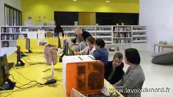 Isbergues : réouverture de la médiathèque du centre culturel - La Voix du Nord