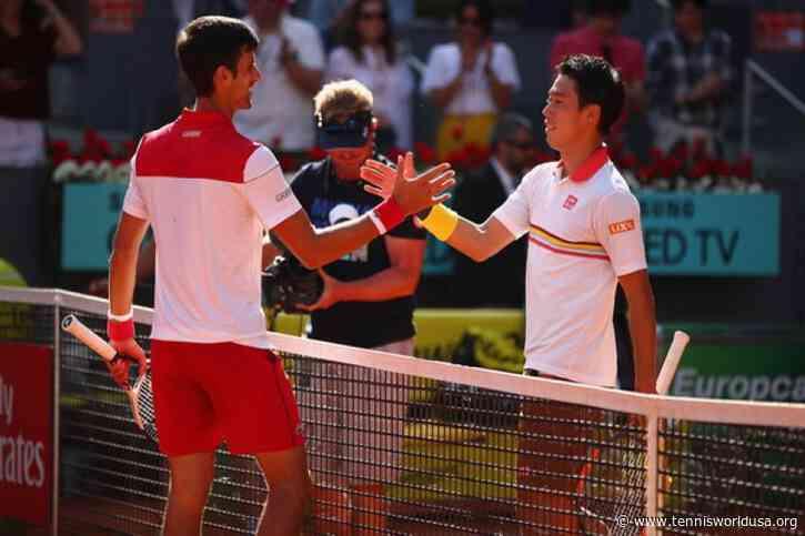 ThrowbackTimes Madrid: Novak Djokovic earns important win over Kei Nishikori
