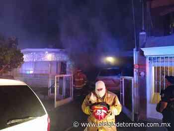 Fuerte incendio arrasa con cuatro unidades - El Siglo de Torreón