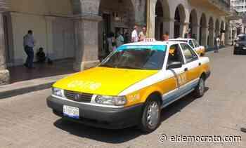 Taxistas de Córdoba viven fuerte crisis - El Demócrata