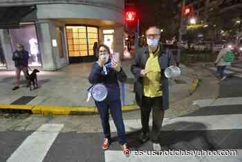 Ciudad: fuerte cacerolazo y protestas en el Obelisco en contra de la cuarentena - Yahoo Noticias