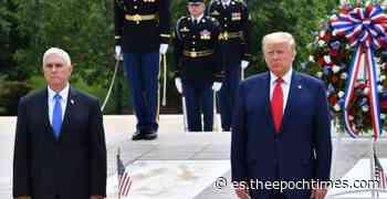 El presidente Trump visita el cementerio de Arlington y el Fuerte McHenry para el Día de la Recordación - lagranepoca