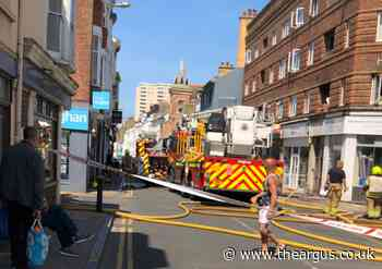 Four people rescued from flat fire in Kemp Town, Brighton