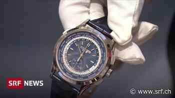 Luxusprodukte in Krisenzeiten – Exporte brechen massiv ein - Schweizer Radio und Fernsehen (SRF)