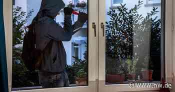 Unbekannte brechen in Haus ein, während die Bewohnerin im Garten ist - Neue Westfälische