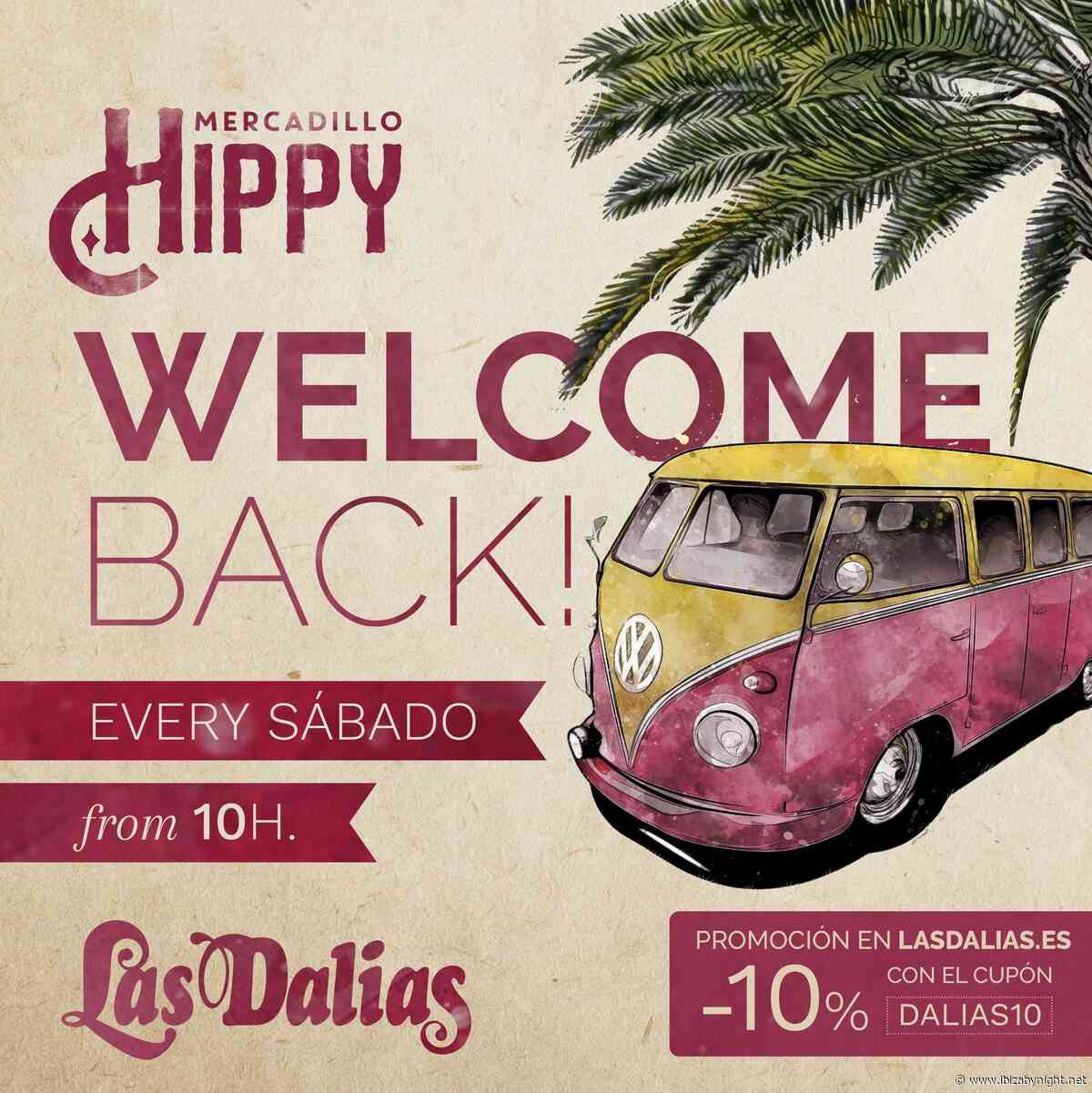 Mercadillo Hippy at Las Dalias Ibiza is back!