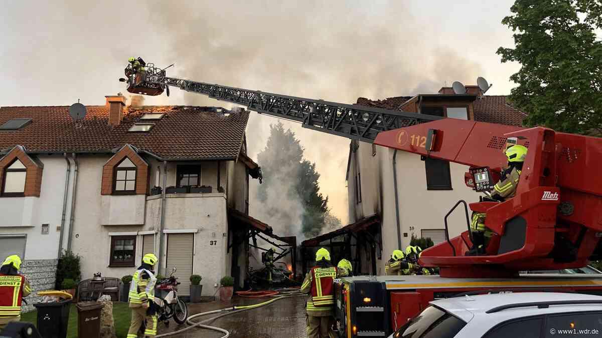 Bornheim: Brand in zwei Wohnhäusern - WDR Nachrichten