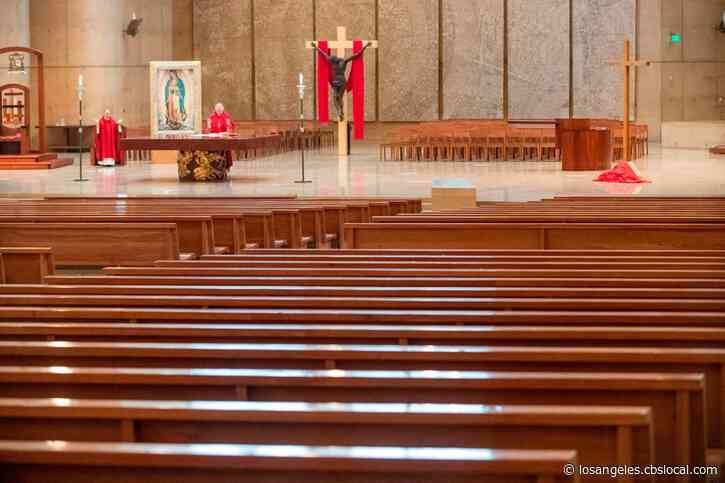 Holy Water Fonts Turned Off, Bread-Only Communion: LA Archdiocese Releases Guidelines For Reopening