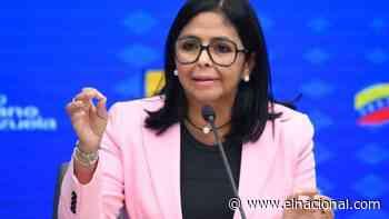 Delcy Rodríguez: El Banco de Inglaterra no seguirá reteniendo el oro venezolano - El Nacional