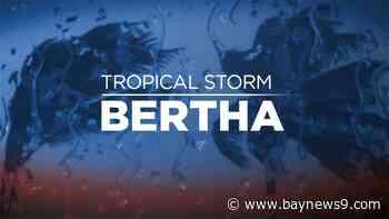 Tropical Storm Bertha Forms Off South Carolina, No Threat to Florida