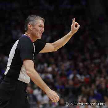 NBA Ref Scott Foster Says Games in Empty Arenas Would Be 'Unique Experience' - Bleacher Report