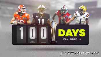 100 Days Out: College football names, games, storylines as we count down to Week 1 of the 2020 season - CBS Sports