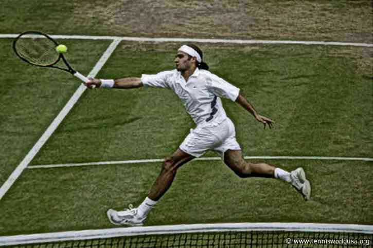 In Roger Federer's words: 'The last time I played at this level was against..'