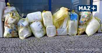 Umweltaktion - Initiative bringt Aktion fürs Müll sammeln in Zossen ins Rollen - Märkische Allgemeine Zeitung