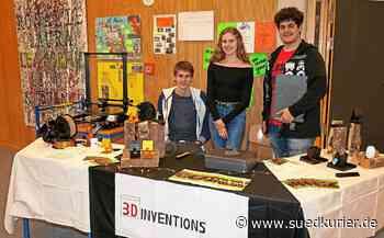 Engen: Gymnasiasten aus Engen sind beim Junior-Landeswettbewerb Baden-Württemberg erfolgreich - SÜDKURIER Online