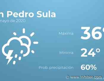 Previsión meteorológica: El tiempo hoy en San Pedro Sula, 27 de mayo - infobae