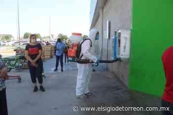 Continúan labores de sanitización en San Pedro - El Siglo de Torreón