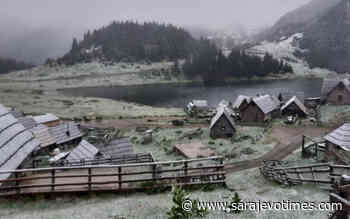 End of May: Snow fell on Prokosko Lake! - Sarajevo Times