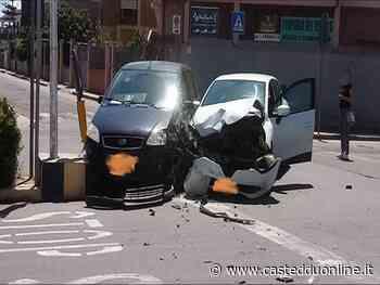 Assemini, brutto schianto tra due auto in via Piave: ci sono feriti - Casteddu on Line