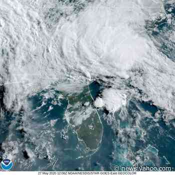 Tropical Storm Bertha forms off South Carolina coast, could bring up to 8 inches of rain to some areas