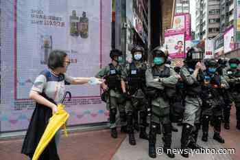 Trump warns China as Hong Kong protesters face crackdown and arrest