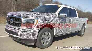 Ford F-150 could be getting an onboard generator