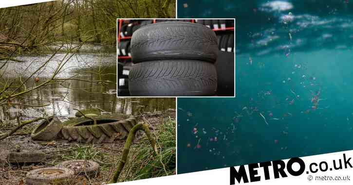 Vehicle tyres could be a major source of microplastics in the ocean