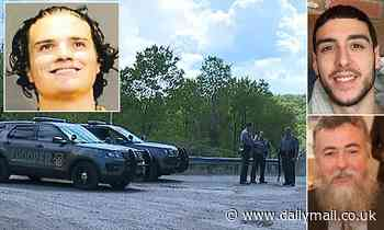 Manhunt for UConn student who 'killed two men and kidnapped a woman' expands in Poconos
