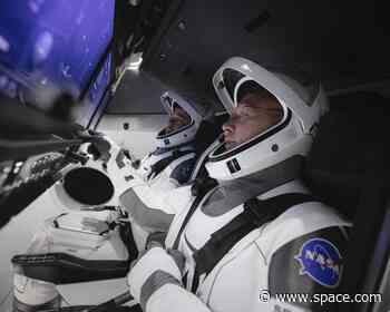 The touchscreen controls of SpaceX's Crew Dragon give astronauts a sci-fi way to fly in space