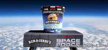 Ben & Jerry's launches ice cream into stratosphere for Netflix tie-in