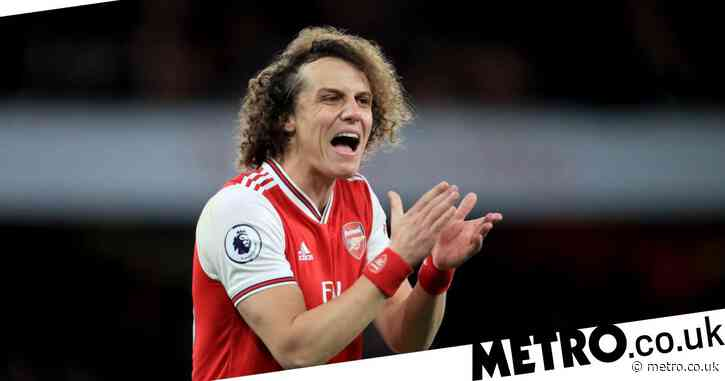 David Luiz set to leave Arsenal on a free transfer this summer