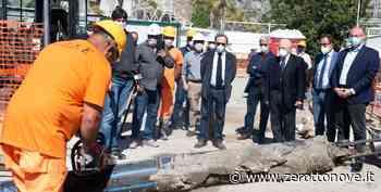 Salerno, sopralluogo di De Luca ai lavori di depurazione dai reflui urbani - Zerottonove.it