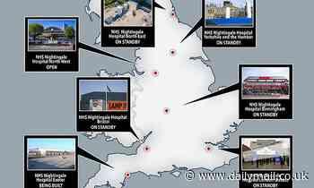 Coronavirus UK: Government mothballs another FOUR NHS Nightingales